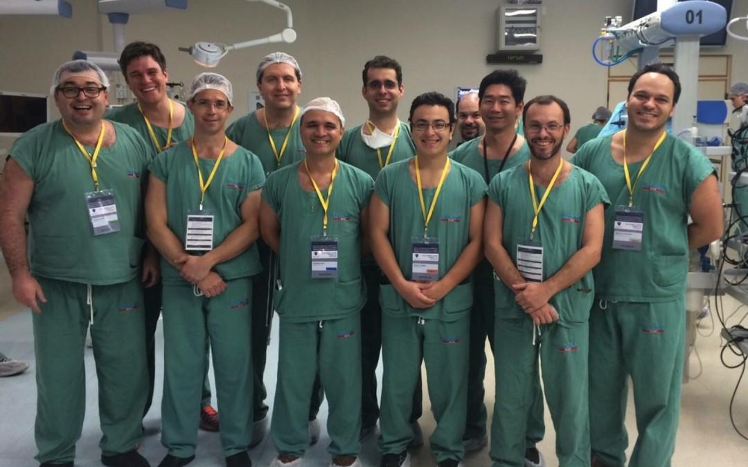 IRCAD recebe curso em espécimes anatômicos